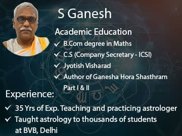 S.Ganesh Best Astrologer